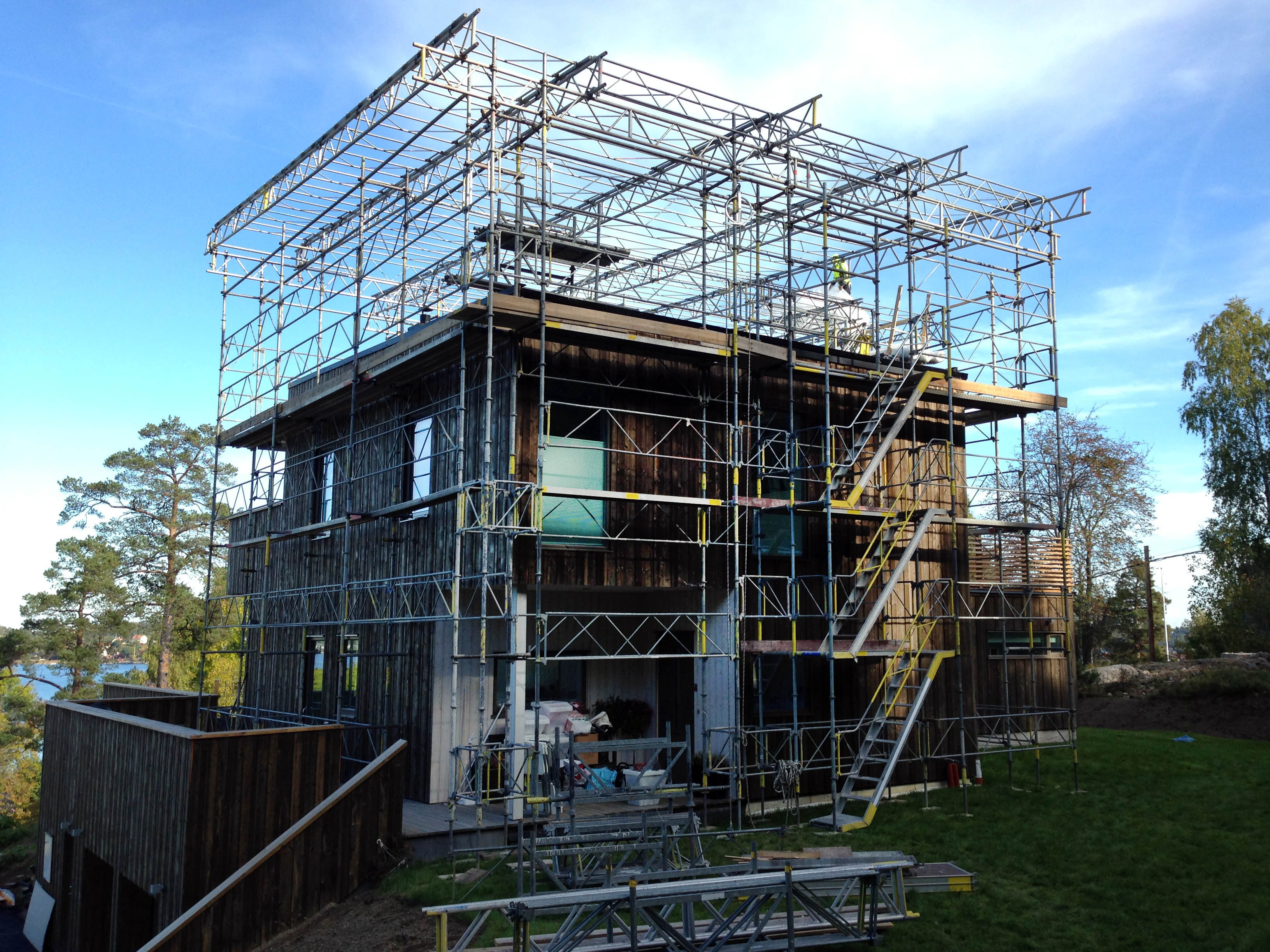 Construction Scaffolding Types : Scaffolding plus montage
